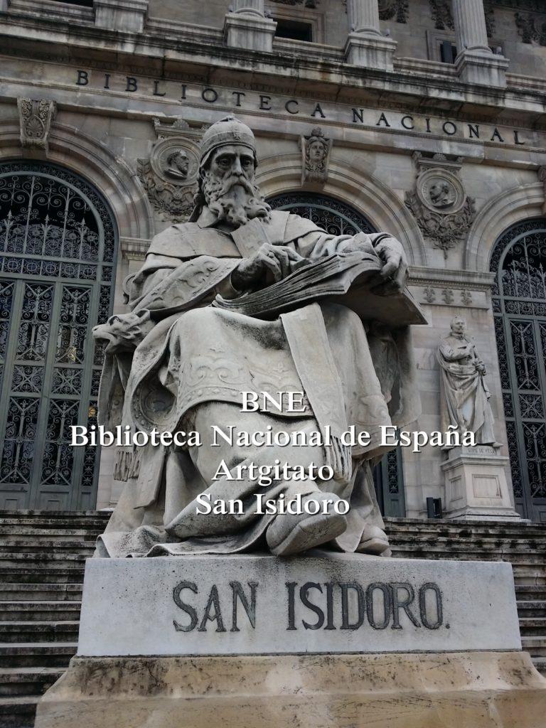 BNE Biblioteca Nacional de España Biblitothèque Nationale d'Espagne Artgitato Madrid San Isidoro