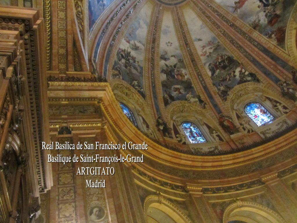 Basilica San Francisco el grande Basilique saint François Madrid Artgitato (13)