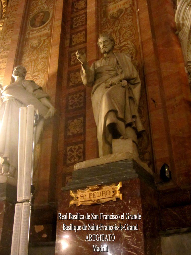 Basilica San Francisco el grande Basilique saint François Madrid Artgitato (14)