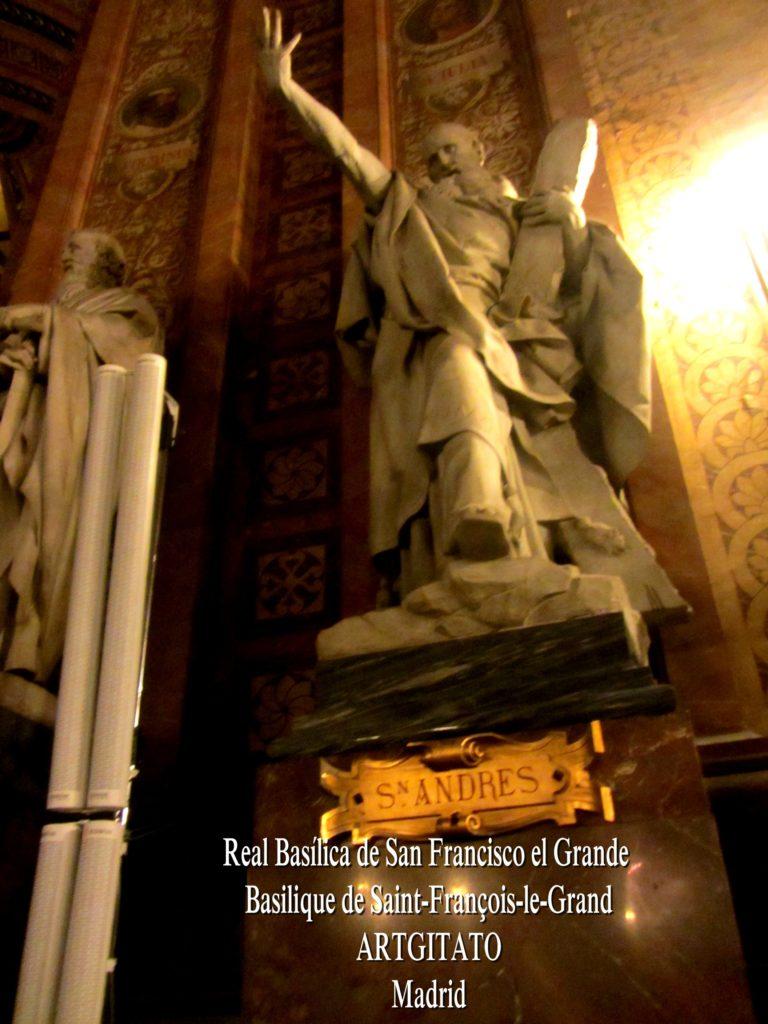 Basilica San Francisco el grande Basilique saint François Madrid Artgitato (16)