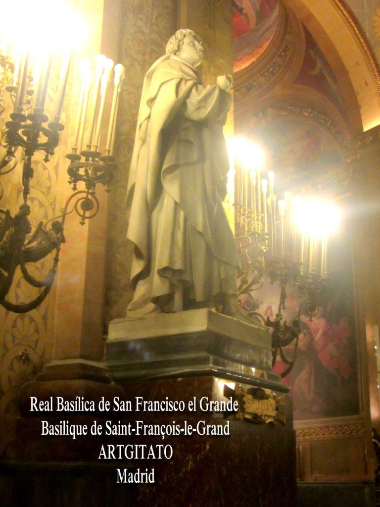 Basilica San Francisco el grande Basilique saint François Madrid Artgitato (17)