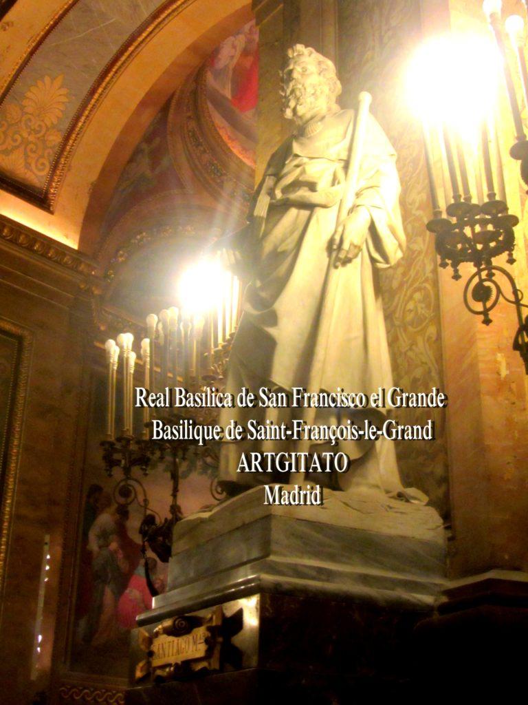 Basilica San Francisco el grande Basilique saint François Madrid Artgitato (18)