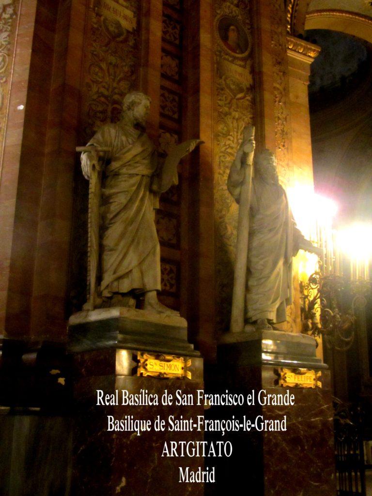 Basilica San Francisco el grande Basilique saint François Madrid Artgitato (2)