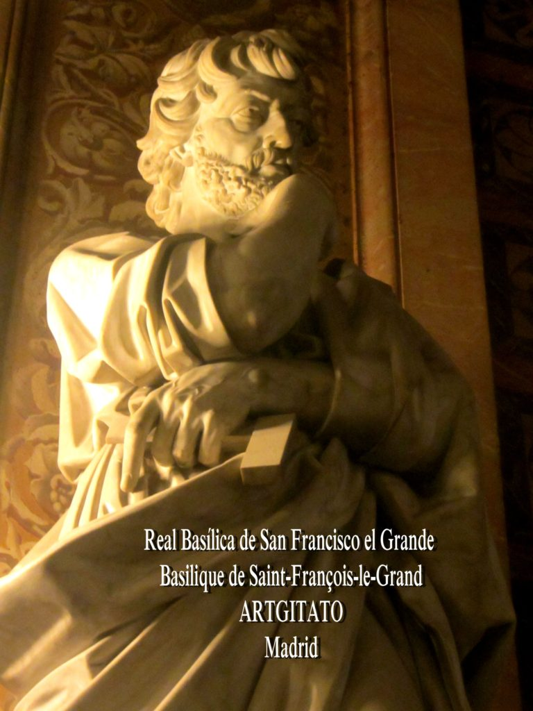 Basilica San Francisco el grande Basilique saint François Madrid Artgitato (20)