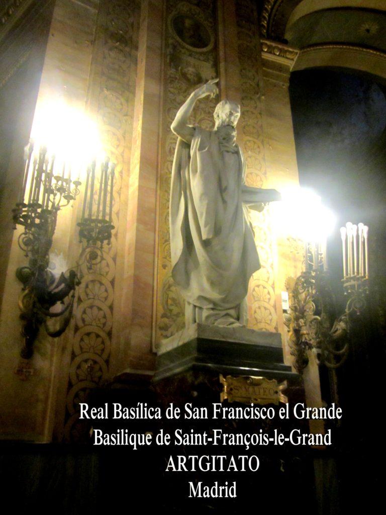 Basilica San Francisco el grande Basilique saint François Madrid Artgitato (4)