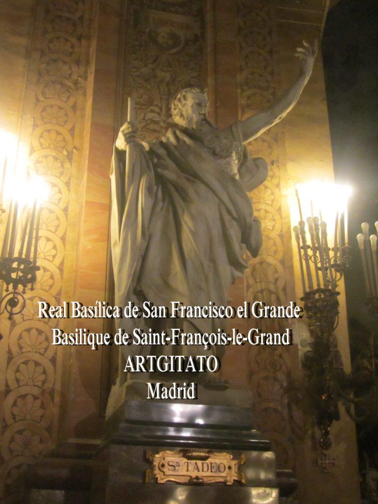 Basilica San Francisco el grande Basilique saint François Madrid Artgitato (5)