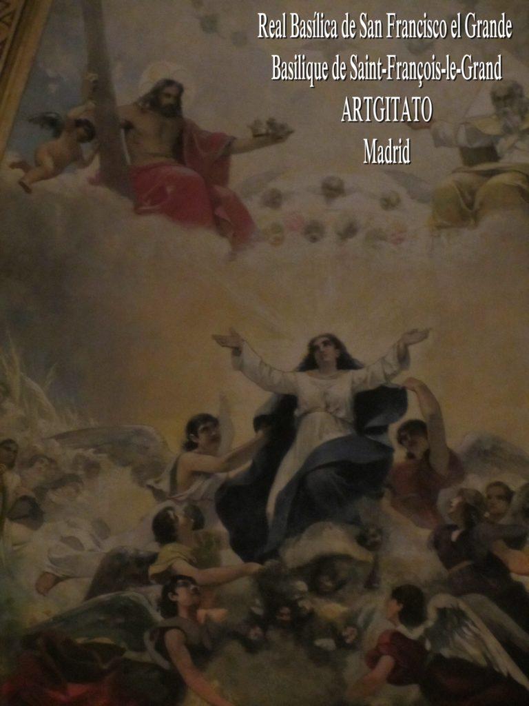 Basilica San Francisco el grande Basilique saint François Madrid Artgitato (6)