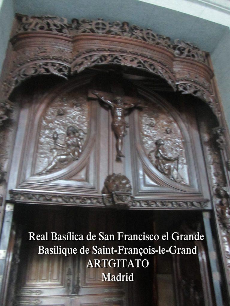 Basilica San Francisco el grande Basilique saint François Madrid Artgitato (7)