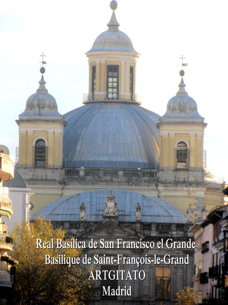 Basilica San Francisco el grande Basilique saint François Madrid Artgitato (8)