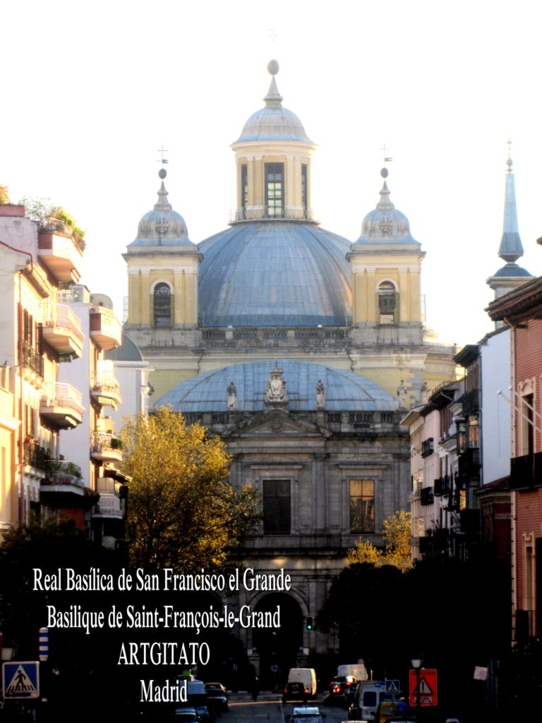 Basilica San Francisco el grande Basilique saint François Madrid Artgitato (9)
