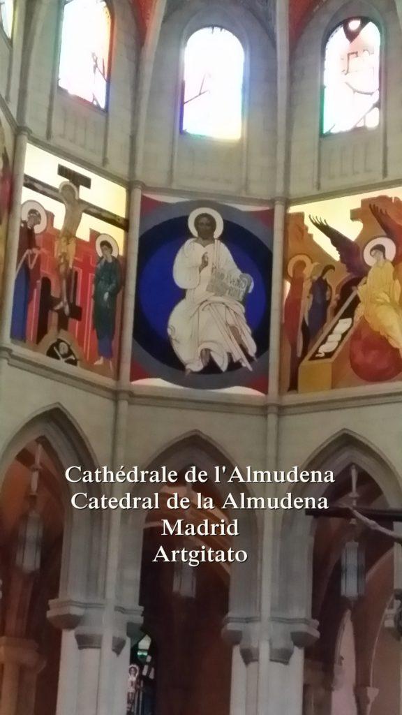 Cathédrale de l'Almudena Catedral de la Almudena Artgitato Madrid (12)