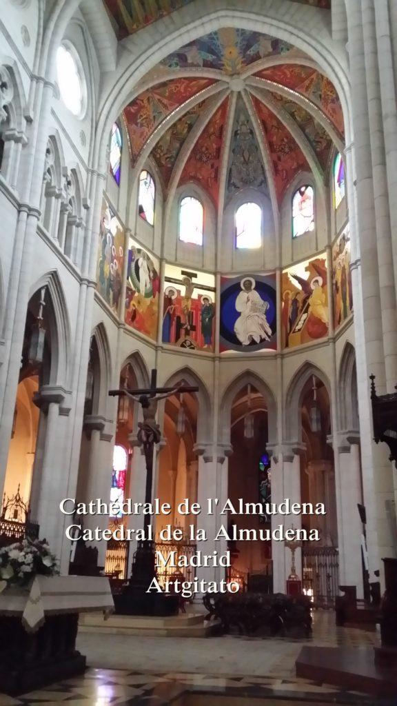 Cathédrale de l'Almudena Catedral de la Almudena Artgitato Madrid (14)