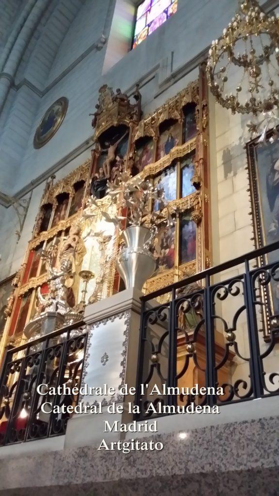 Cathédrale de l'Almudena Catedral de la Almudena Artgitato Madrid (16)