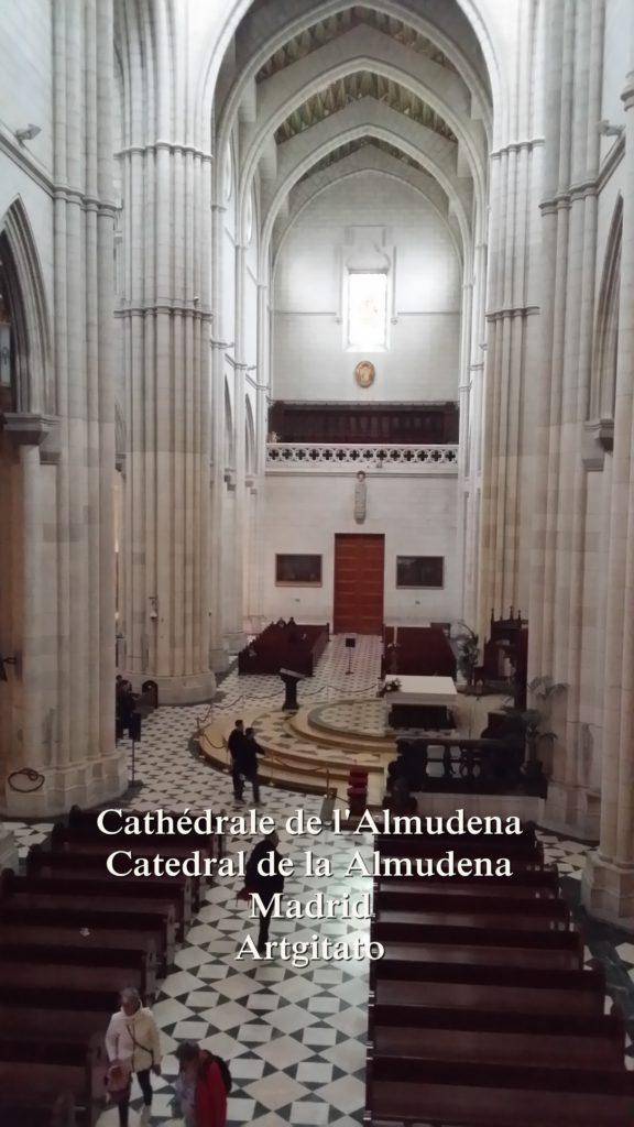 Cathédrale de l'Almudena Catedral de la Almudena Artgitato Madrid (21)