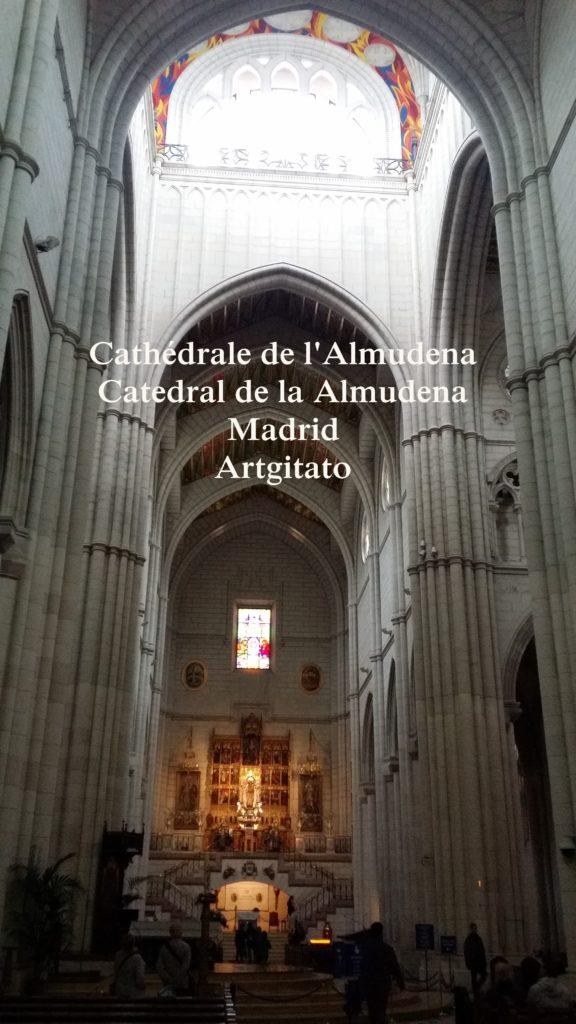 Cathédrale de l'Almudena Catedral de la Almudena Artgitato Madrid (8)