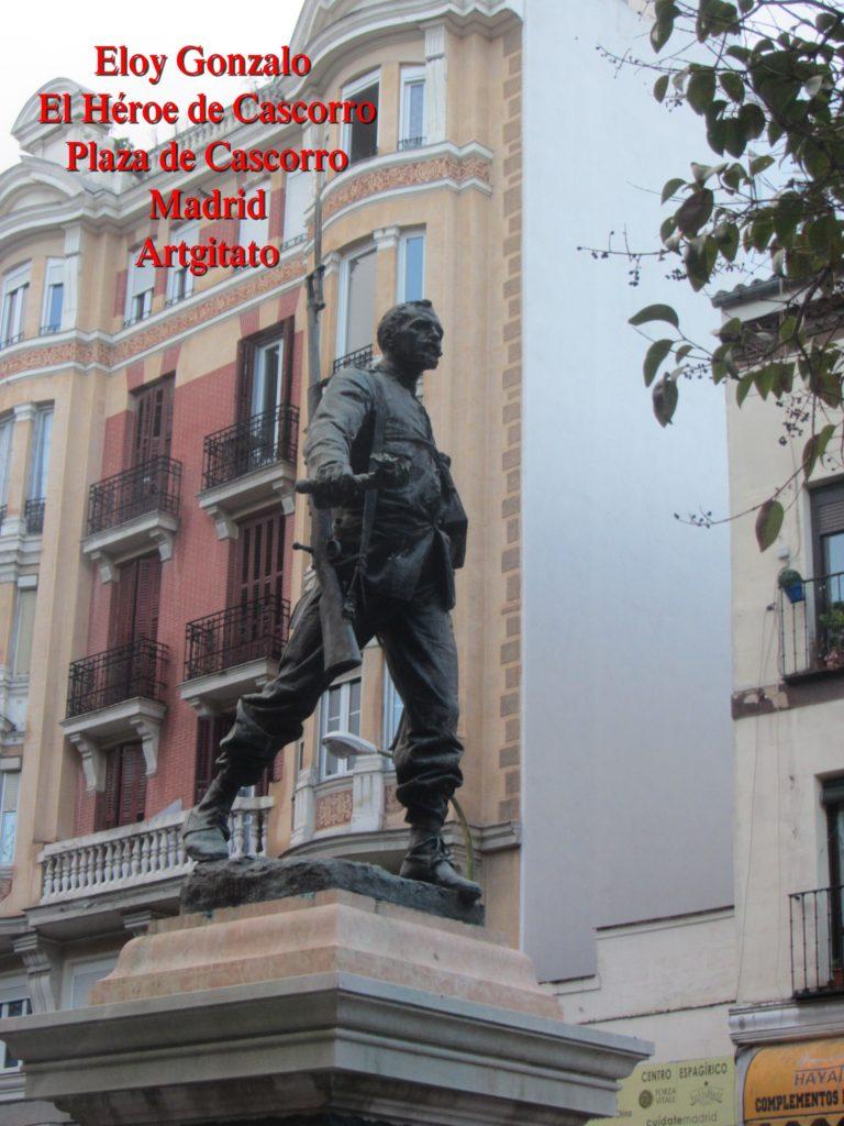 Eloy Gonzalo Plaza de Cascorro Madrid Artgitato (1)