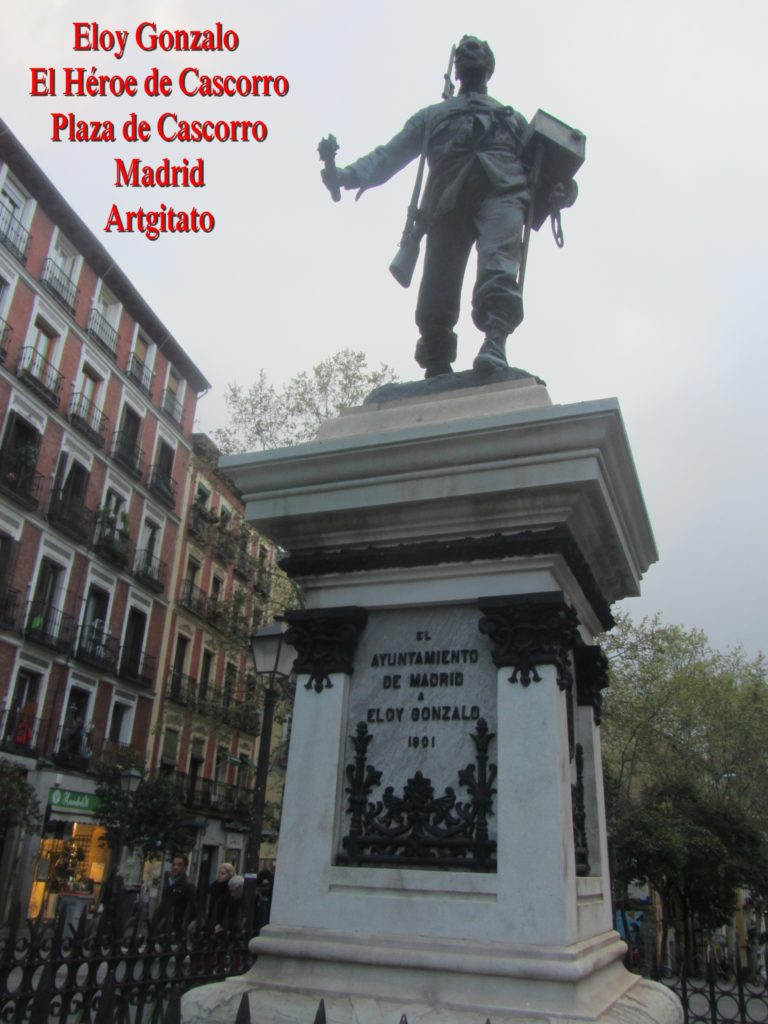 Eloy Gonzalo Plaza de Cascorro Madrid Artgitato (2)
