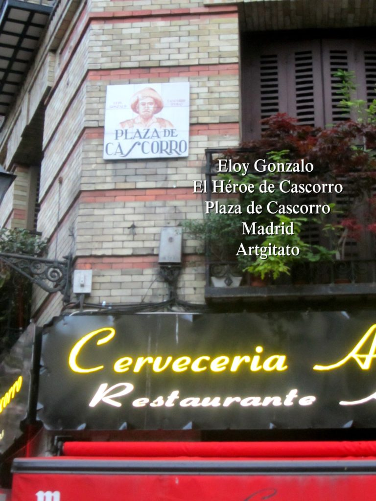 Eloy Gonzalo Plaza de Cascorro Madrid Artgitato (4)