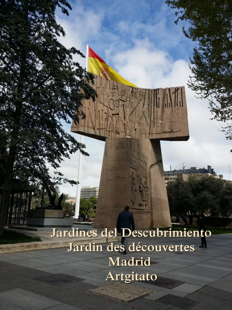 Jardines del Descubrimiento - Jardin des découvertes - Madrid Artgitato (2)