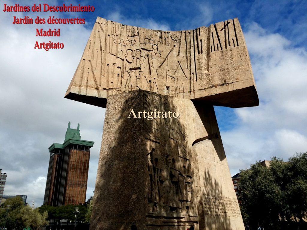 Jardines del Descubrimiento - Jardin des découvertes - Madrid Artgitato (3)