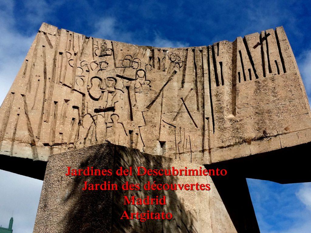 Jardines del Descubrimiento - Jardin des découvertes - Madrid Artgitato (4)