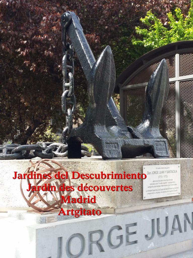 Jardines del Descubrimiento - Jardin des découvertes - Madrid Artgitato (5)