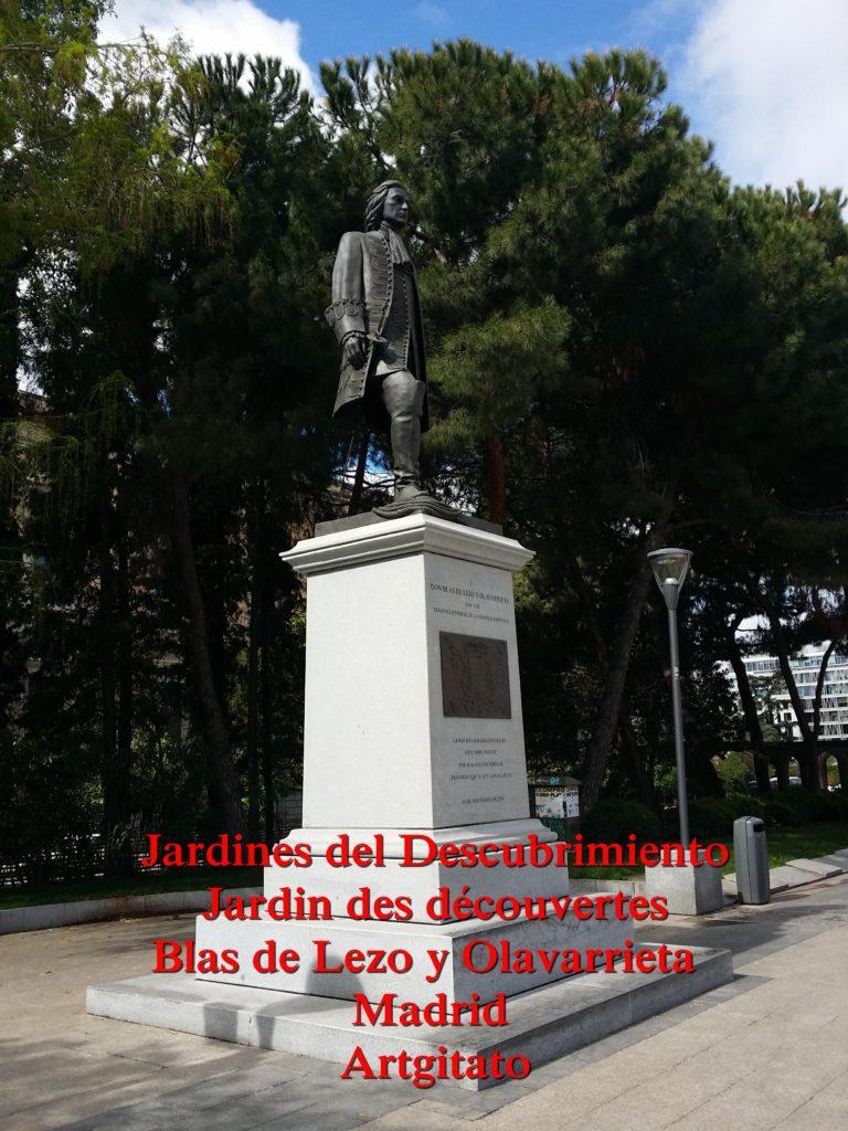 Jardines del Descubrimiento - Jardin des découvertes - Madrid Artgitato (8)