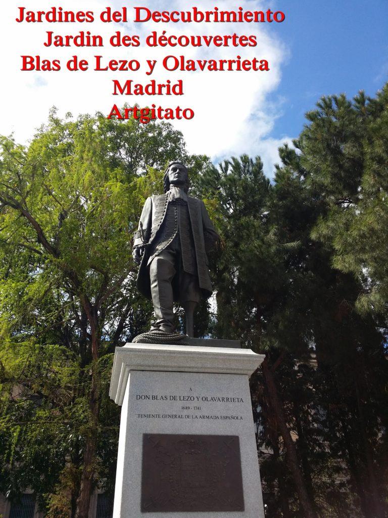 Jardines del Descubrimiento - Jardin des découvertes - Madrid Artgitato (9)