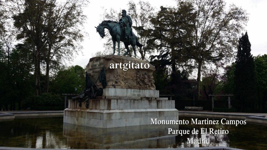 Martinez Campos Monumento Monument Parque de El Retiro Madrid Artgitato (2)