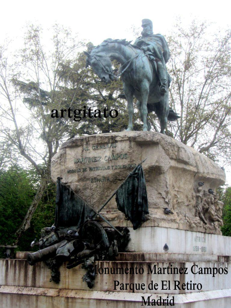 Martinez Campos Monumento Monument Parque de El Retiro Madrid Artgitato (3)