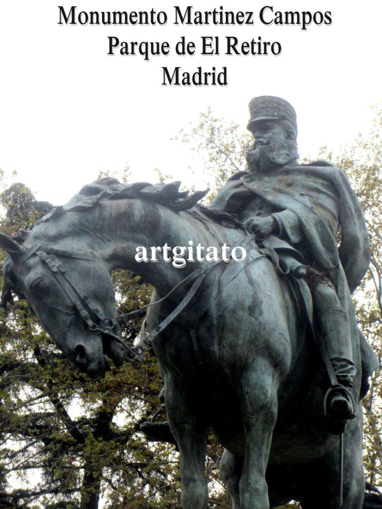 Martinez Campos Monumento Monument Parque de El Retiro Madrid Artgitato (4)
