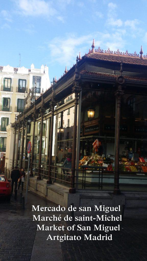 Mercado de san Miguel Marché de saint-Michel Market of San Miguel Artgitato Madrid (3)