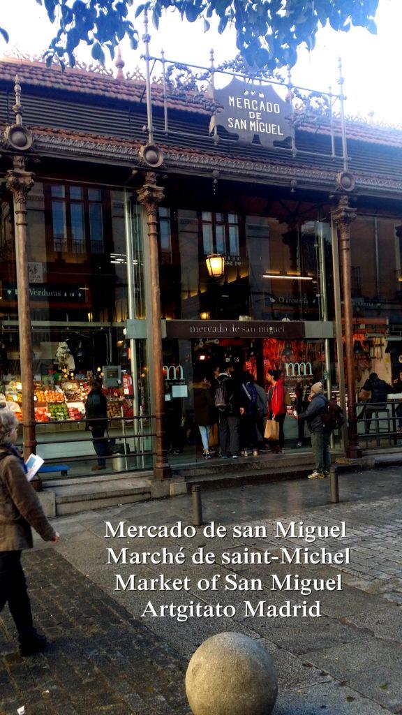Mercado de san Miguel Marché de saint-Michel Market of San Miguel Artgitato Madrid (4)