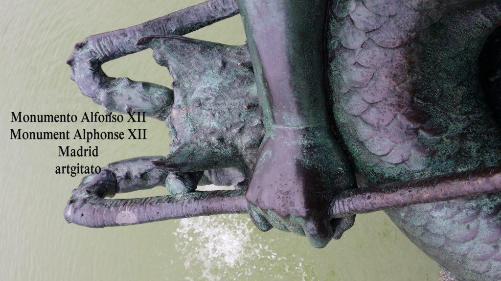 Monumento Alfonso XII Monument Alphonse XII Parque de El Retiro Madrid Artgitato 101