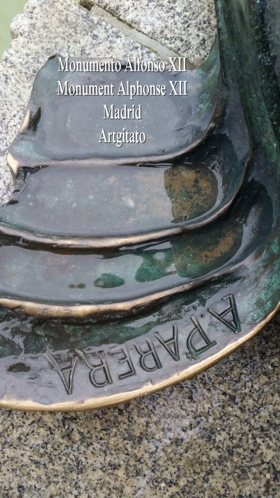 Monumento Alfonso XII Monument Alphonse XII Parque de El Retiro Madrid Artgitato 104