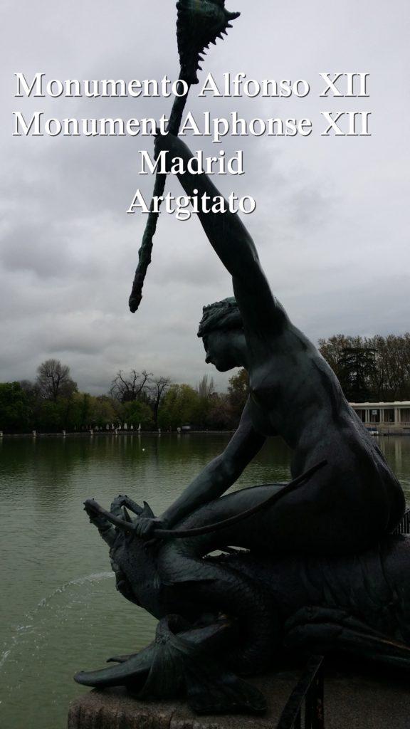 Monumento Alfonso XII Monument Alphonse XII Parque de El Retiro Madrid Artgitato 106