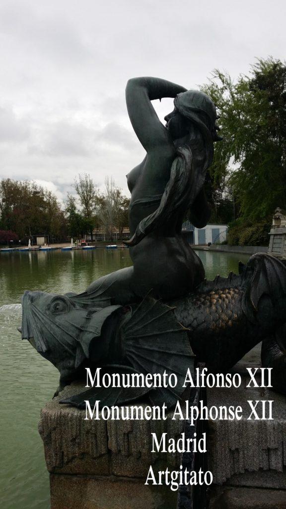 Monumento Alfonso XII Monument Alphonse XII Parque de El Retiro Madrid Artgitato 200