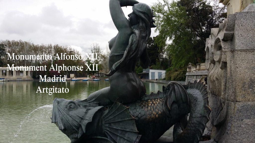 Monumento Alfonso XII Monument Alphonse XII Parque de El Retiro Madrid Artgitato 201