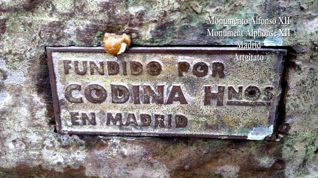 Monumento Alfonso XII Monument Alphonse XII Parque de El Retiro Madrid Artgitato 204