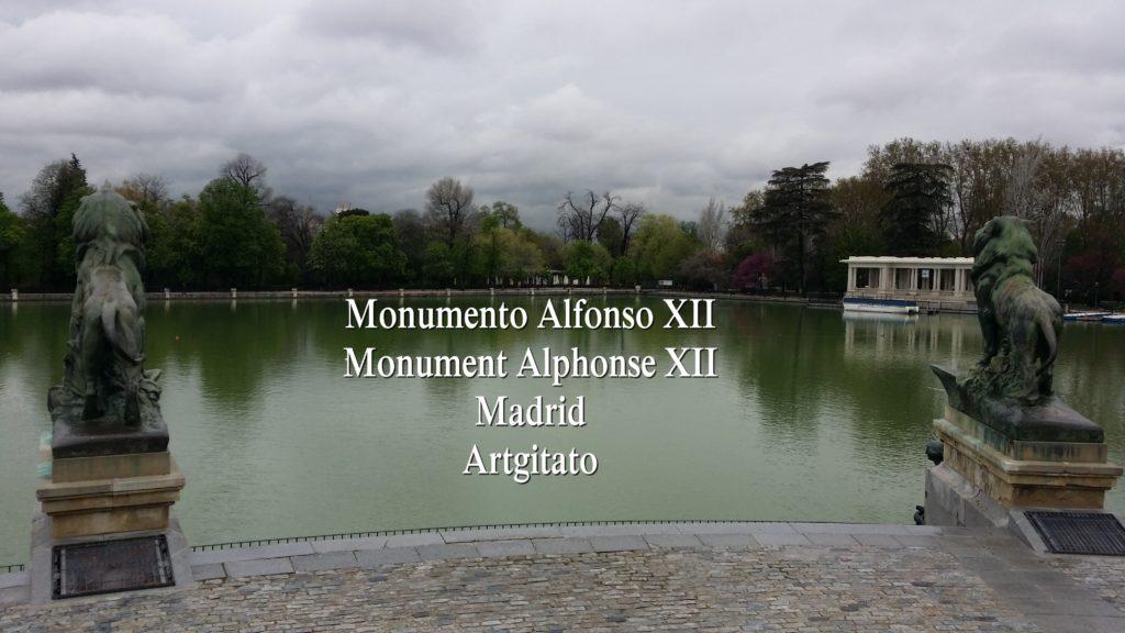 Monumento Alfonso XII Monument Alphonse XII Parque de El Retiro Madrid Artgitato 206