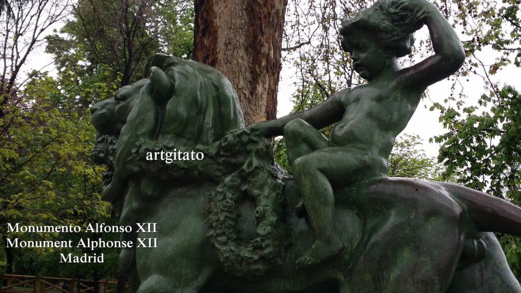 Monumento Alfonso XII Monument Alphonse XII Parque de El Retiro Madrid Artgitato 21