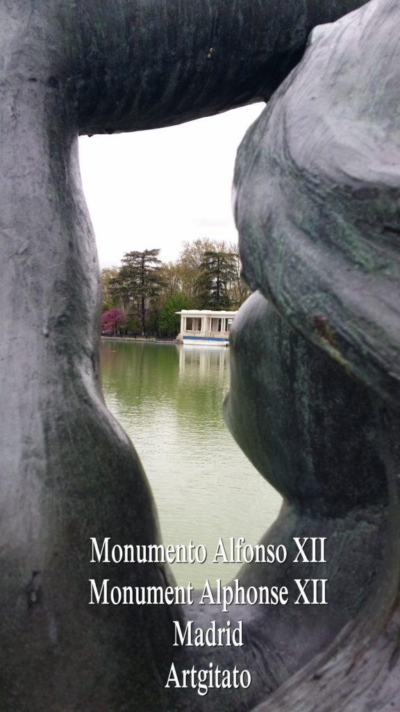 Monumento Alfonso XII Monument Alphonse XII Parque de El Retiro Madrid Artgitato 211