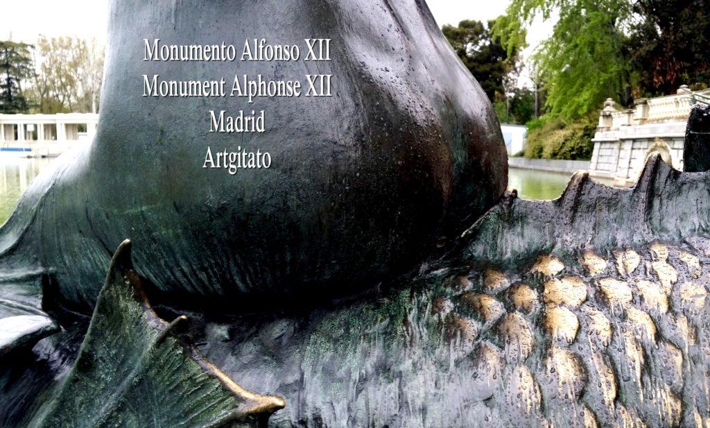 Monumento Alfonso XII Monument Alphonse XII Parque de El Retiro Madrid Artgitato 214