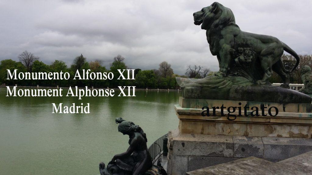 Monumento Alfonso XII Monument Alphonse XII Parque de El Retiro Madrid Artgitato 22