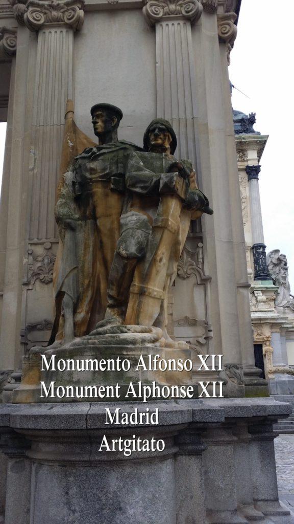 Monumento Alfonso XII Monument Alphonse XII Parque de El Retiro Madrid Artgitato 301