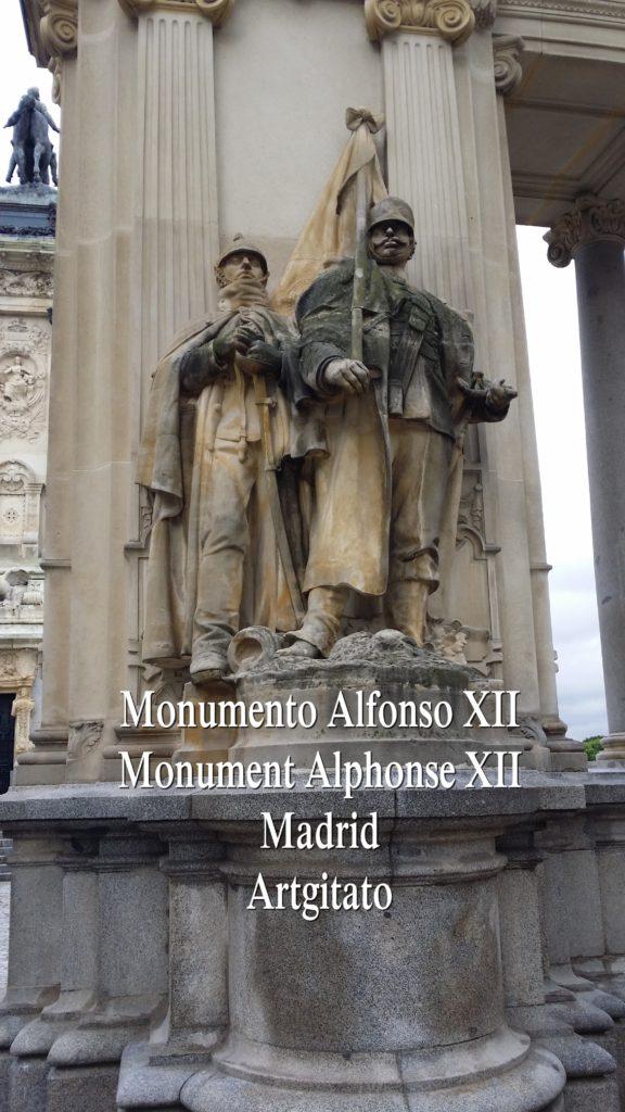 Monumento Alfonso XII Monument Alphonse XII Parque de El Retiro Madrid Artgitato 302