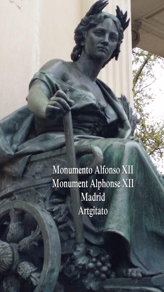 Monumento Alfonso XII Monument Alphonse XII Parque de El Retiro Madrid Artgitato 304