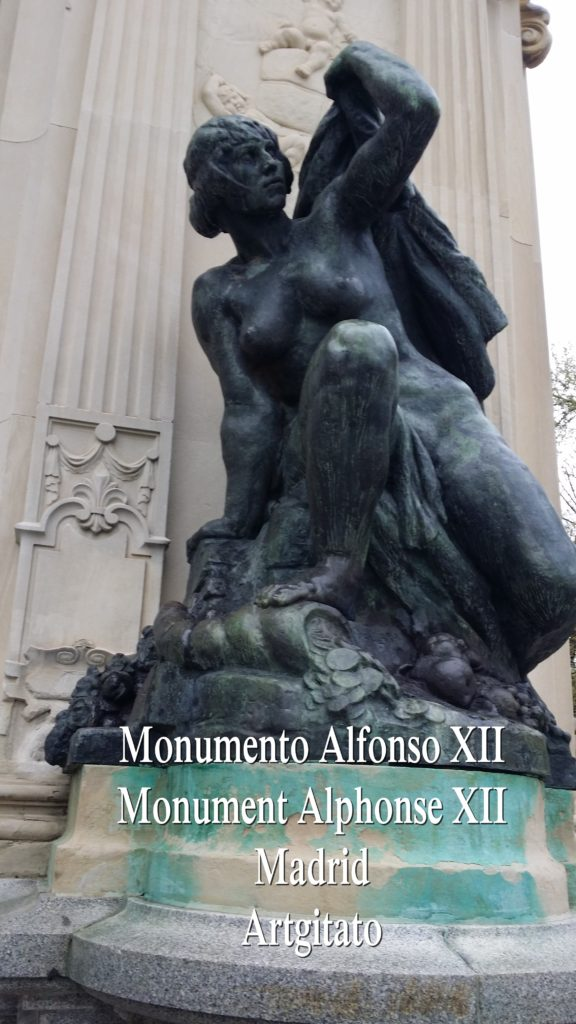 Monumento Alfonso XII Monument Alphonse XII Parque de El Retiro Madrid Artgitato 306
