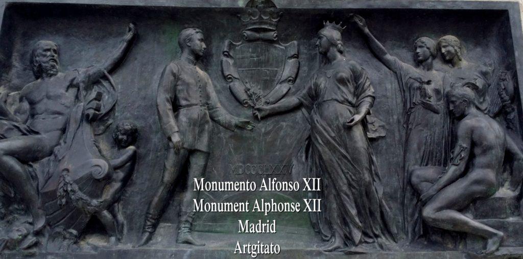 Monumento Alfonso XII Monument Alphonse XII Parque de El Retiro Madrid Artgitato 307