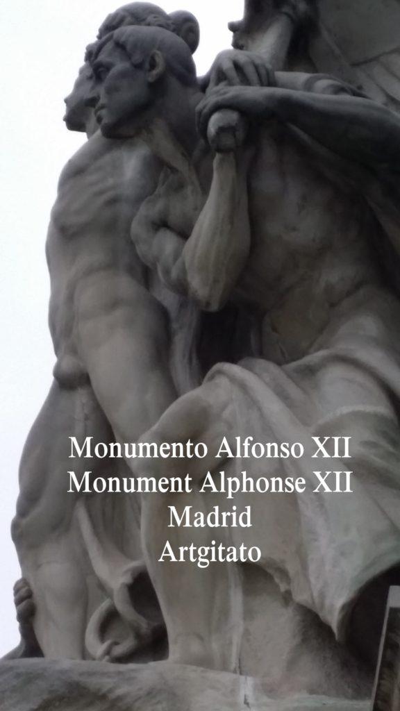 Monumento Alfonso XII Monument Alphonse XII Parque de El Retiro Madrid Artgitato 309
